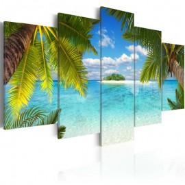 Quadro - Paradise island