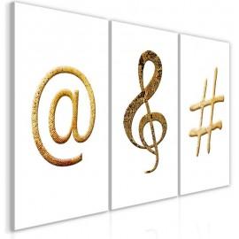 Quadro - Golden Signs (3 Parts)