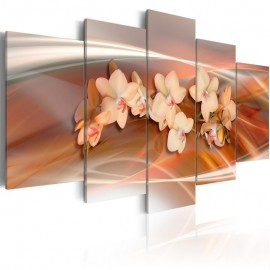 Quadro - An orchid in grey shades