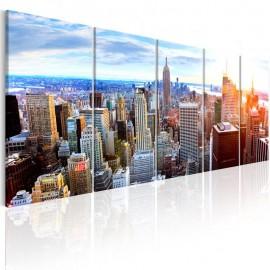 Quadro - New York: Sunrise