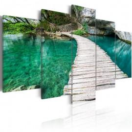Quadro - Turquoise lake