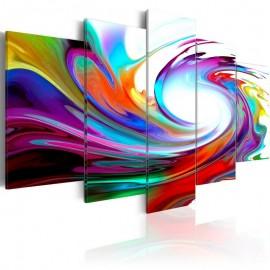 Quadro - Rainbow - swirl