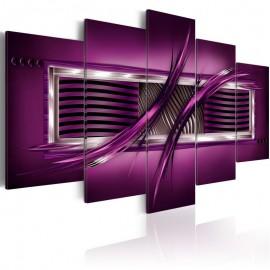 Quadro - Rhythm of purple