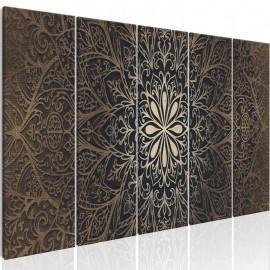 Cuadro - Brown Mandala