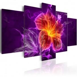 Cuadro - Flor esotérica