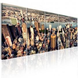 Quadro - Flight over New York