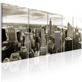 Cuadro - Grey Manhattan
