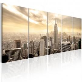 Quadro - New York: View on Manhattan