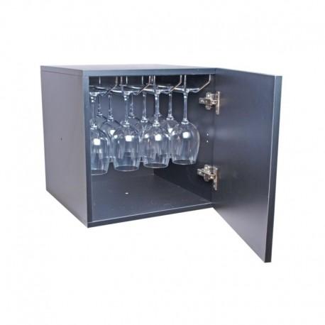 Botellero Monastrell mini con puerta (16 copas)