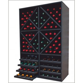 Botellero MERLOT Aranda 112 botellas