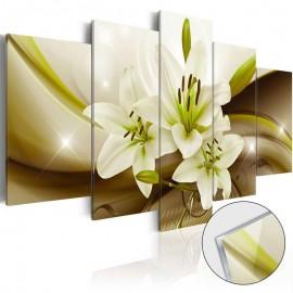 Quadro acrílico - Modern Lily [Glass]