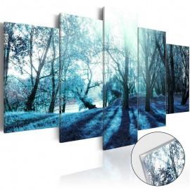 Quadro acrílico - Blue Glade [Glass]