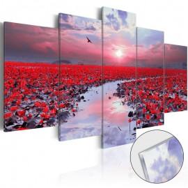 Quadro acrílico - The River of Love [Glass]