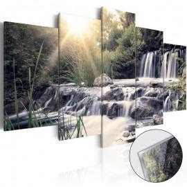 Cuadro acrílico - Waterfall of Dreams [Glass]