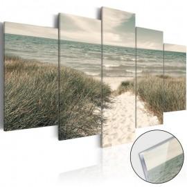 Quadro acrílico - Quiet Beach [Glass]