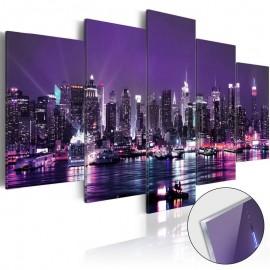 Quadro acrílico - Purple Sky [Glass]