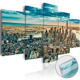 Cuadro acrílico - NY: Dream City [Glass]