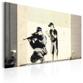Quadro - Sniper and Child by Banksy