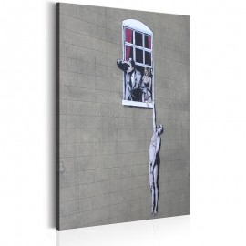 Quadro - Well Hung Lover by Banksy