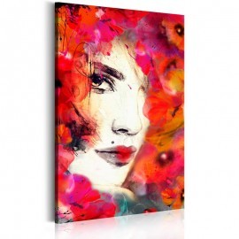 Quadro - Woman in Poppies