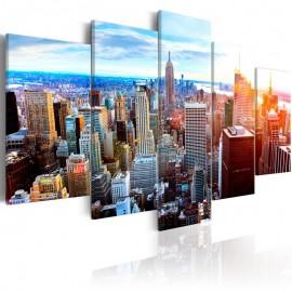 Cuadro - New York Sunrise