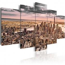 Quadro - New York City: Morning Sky