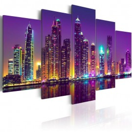 Quadro - Purple Nights