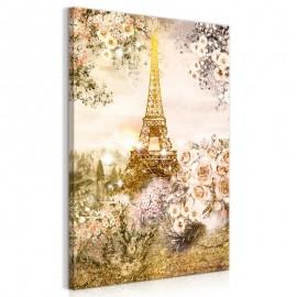 Cuadro - Summer in Paris (1 Part) Vertical