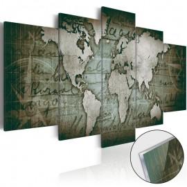 Cuadro acrílico - Acrylic prints – Bronze map III