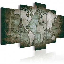 Quadro - Emerald Map