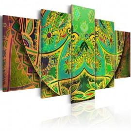 Quadro - Mandala: Green Energy