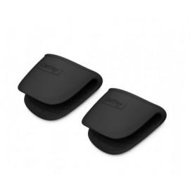 Pinzas protectoras CASTEY de silicona negra