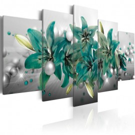 Quadro - Turquoise Bouquet