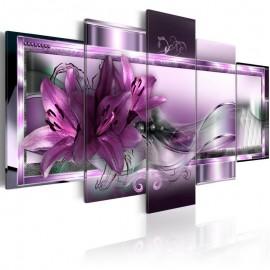 Cuadro - Purple Lilies