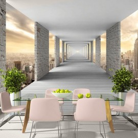 Papel de parede autocolante - Skyward Corridor