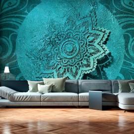 Papel de parede autocolante - Azure Flower