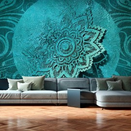 Papel de parede autocolante - Azure Flower II