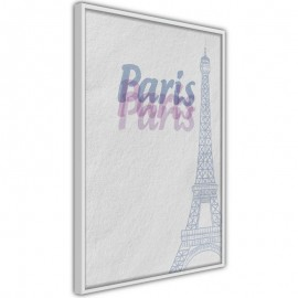 Póster - Pastel Paris