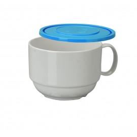Taza Desayuno policarbonato con tapa