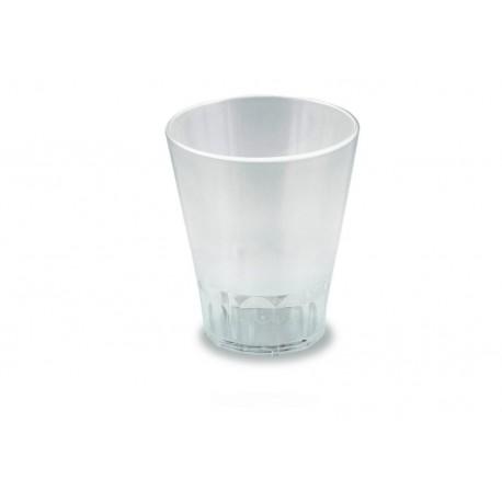 Vaso 300 policarbonato con tapa
