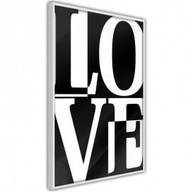 Pôster - Love Chessboard