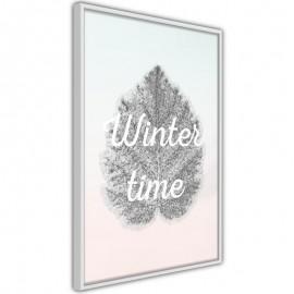 Póster - Winter Leaf