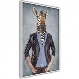 Póster - Animal Alter Ego: Zebra
