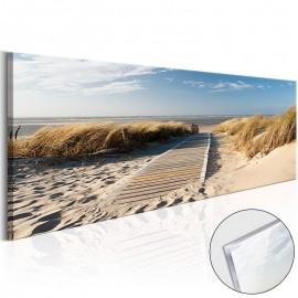 Quadro acrílico - Wild Beach [Glass]
