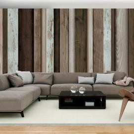 Papel de parede autocolante - Wooden Fan