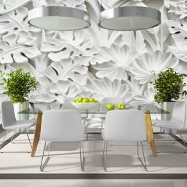 Papel de parede autocolante - Alabaster Garden II