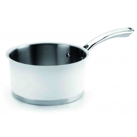 Cazo Recto Inox 18% Cromo Black&White de Lacor