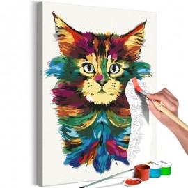 Quadro pintado por você - Colourful Mane