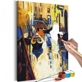 Quadro pintado por você - Venice (Gondolas)