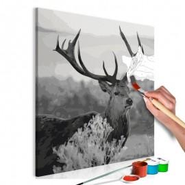 Quadro pintado por você - Grey Wildness